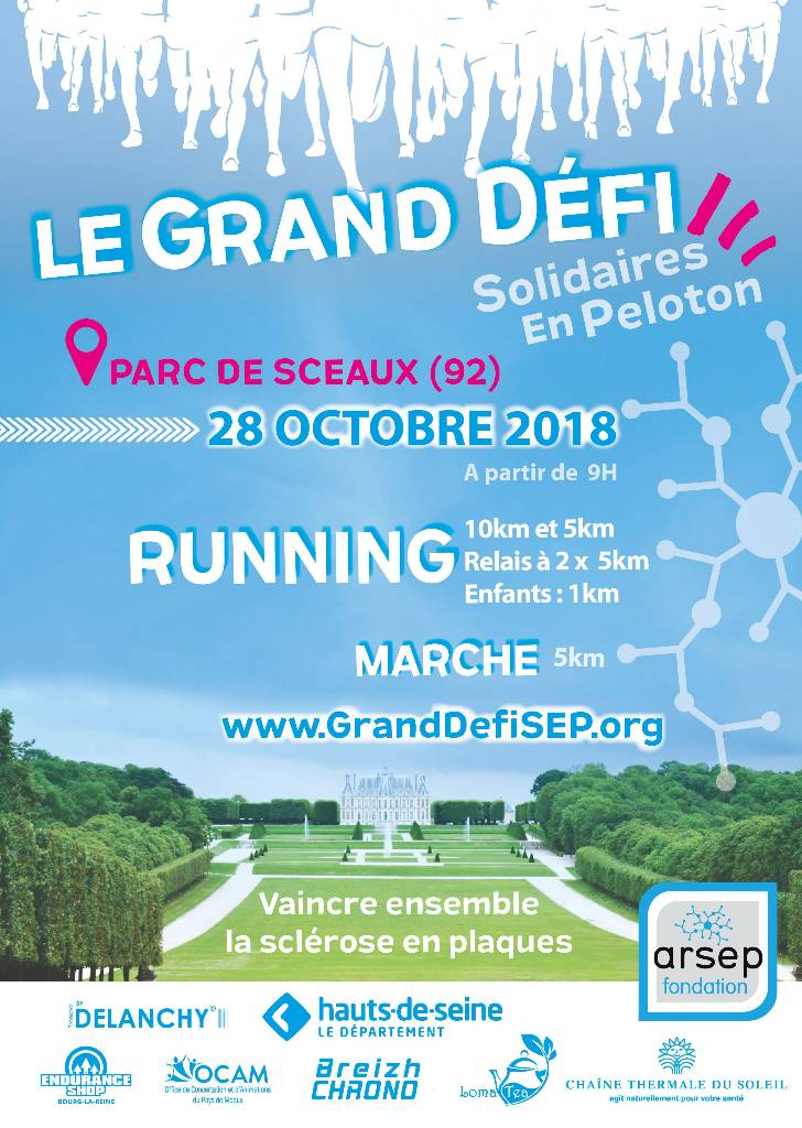 LE GRAND DEFI SOLIDAIRE ARSEP